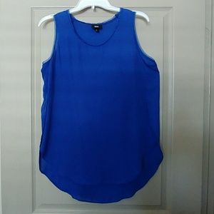 Mossimo Royal Blue High-Low Tank